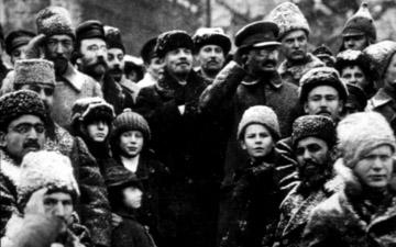 Trotski en Lenin