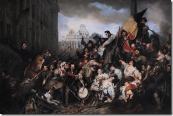 Franstalige onruststokers keren zich tegen het wettig gezag