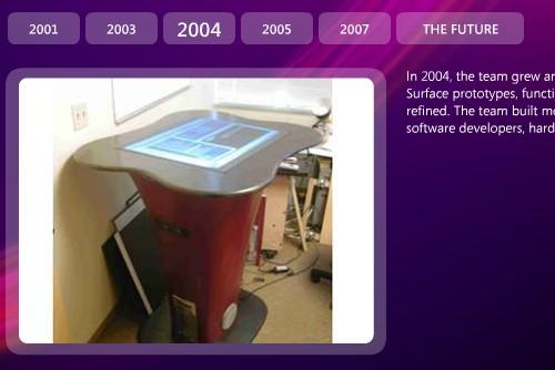 Microsoft Surface History