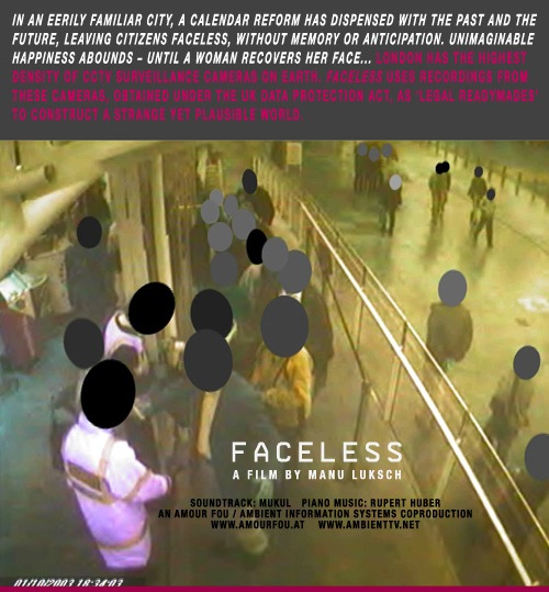 Faceless, the movie