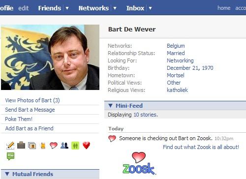 Bart De Wever op Facebook