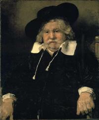 Oude Man met Ipod, Rembrandt