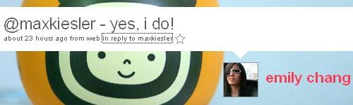 Emily Chang antwoord op huwelijksaanzoek Max Kiesler
