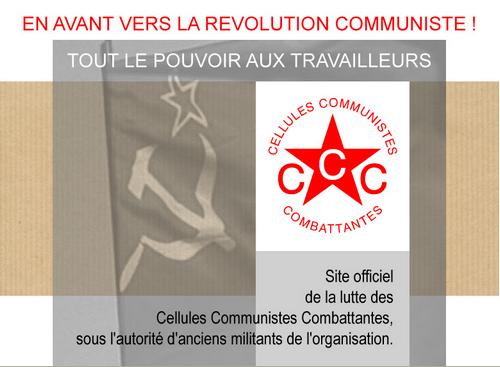 CCC, Cellules Communistes Combattantes
