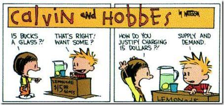 Calvin en Hobbes financiële crisis 1