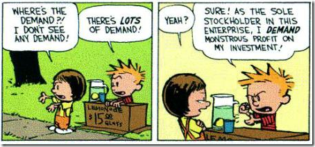 Calvin en Hobbes financiële crisis 2