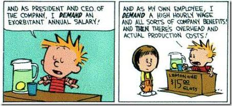 Calvin en Hobbes financiële crisis 3