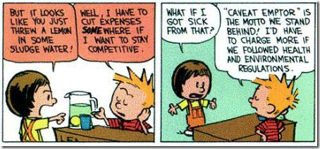 Calvin en Hobbes financiële crisis 4