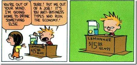Calvin en Hobbes financiële crisis 5