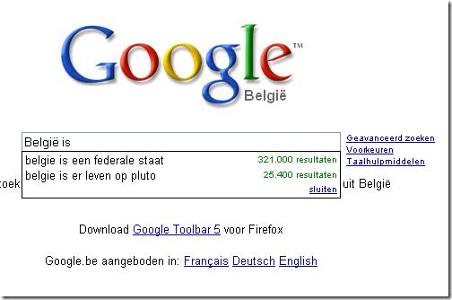 Google België