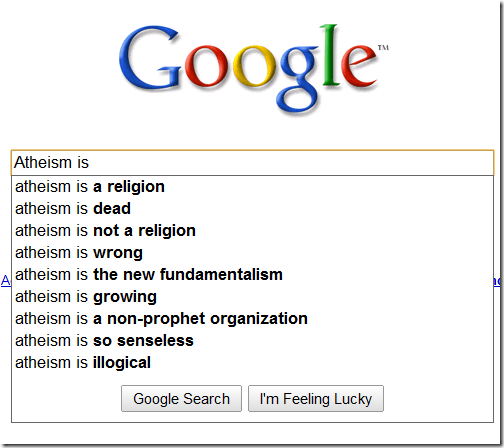Atheism is