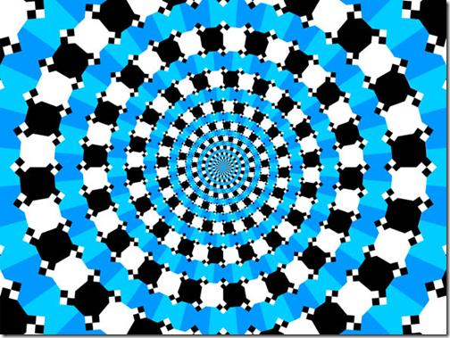 Optische illusie: dit is geen spiraal
