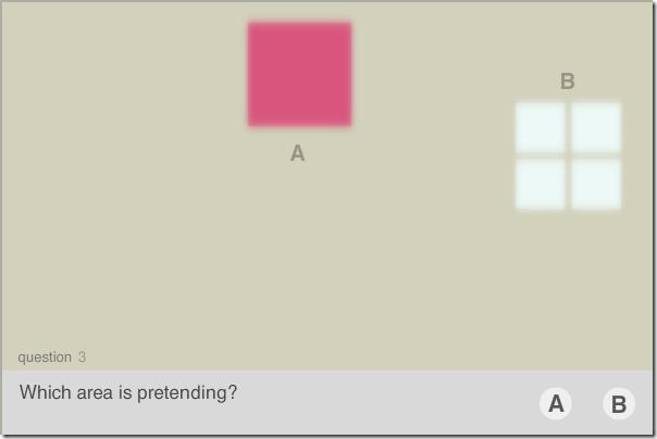 Hypnoid associatie van vormen, kleuren en emoties. Zelftest.