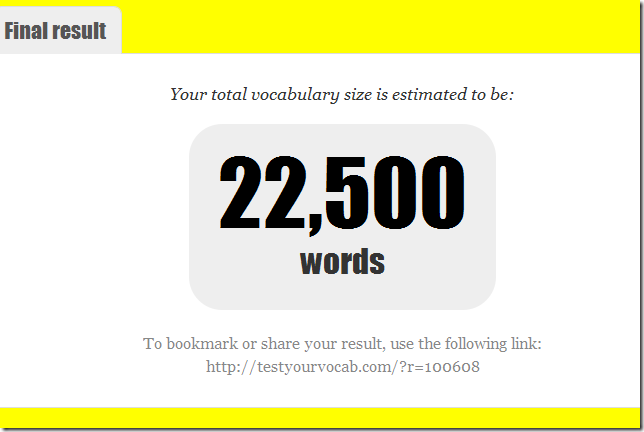 Hoeveel Engelse woorden ken je - hoe groot is je Engelse Woordenschat?