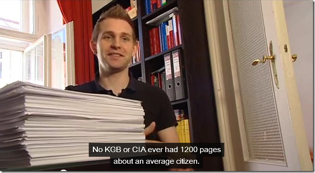 Max Schrems: No KGB or CIA ever had 1200 pages about an average citizen